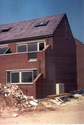 Foto bouw juni 1977