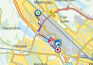route ziekenhuis en huisartsenpost Leidsche Rijn